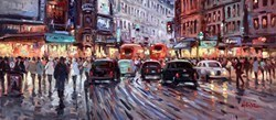 London Traffic by Henderson Cisz -  sized 27x12 inches. Available from Whitewall Galleries